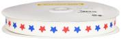 nico-nico days print rubber tape 15mm width 10m reel white star NC-84