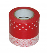 d tape printing pattern Washi Masking Tape 15mm width x15m 3-pack
