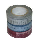 d tape printing pattern Washi Masking Tape 15mm width x15m 3-pack