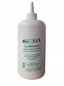 Ber-Fix Textile adhesive Boilable 95° Buegelfester 180° without Press - 500ml with 2 x FoxFix Sponge, 500 ml