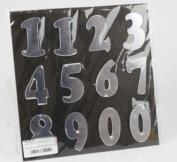 22X22CM SELF ADHESIVE REFLECTIVE NUMBERS FG1572