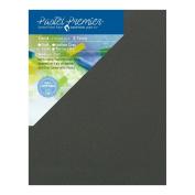 Pastel Premier Sanded Pastel Paper Conservation Panel, Medium Grit, 28cm x 36cm , Slate, 1 Package of 2 Panels
