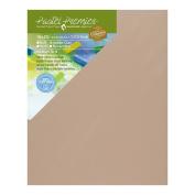 Pastel Premier Sanded Pastel Paper Eco Panel, Medium Grit, 41cm X 50cm , Italian Clay, 1 Panel