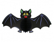 Smile YKK Halloween Paper Hanging Decoration Prop for Home Club Party Black