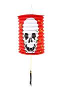 Smile YKK Pumpkin Flodable Lantern Halloween Party Hanging Decoration Red