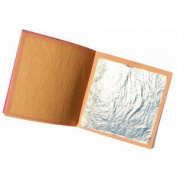Pure 100% Sim 10 Large Gold Leaf Sheet Notebook, 95 x 95 mm, 10 sheets