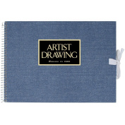 ARTIST MEDALLION F1 Sketchbook For Watercolour - Blue