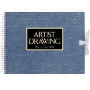 ARTIST MEDALLION F0 Sketchbook For Watercolour - Blue