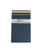 10 Sheets Pack - A4 Assorted Colours - Paper 135gsm - Acid Free - Suitable for Students and Professional Artists