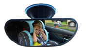 MWYJR Baby Car Mirror Turn function Clear Safe Simple Secure Instal Back Seat Rear Suction Cup View mirror