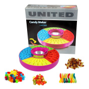 CrazyGadget® Candy Maker CM1688 Jelly Gummy Candy Sweets Maker. Makes up to 41 sweets each time. 4 fun designs