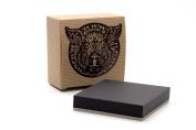 Pink Pig, Zen Artist Tiles | 50 Squares with Holder | 270gsm Black Card