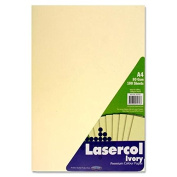 Premier Stationery Lasercol A4 80 gsm Ivory Paper - Pastel
