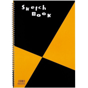 Maruman ZUAN Sketchbook 35cm x 9.220cm B4, Unruled, 24 Pages