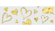 Ursus Style Transparent Paper Golden Heart 4008525120964