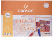 Guarro Canson A3 130 g 10 Pages Minipack