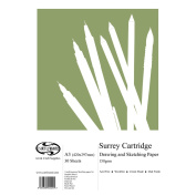 A3 Curtisward Surrey Cartridge Artists Drawing Paper Pad. For Pen, Pencil etc