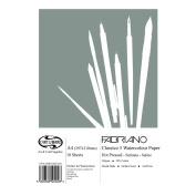 A4 Curtisward Fabriano Classico Artists Hot Pressed Watercolour Paper Pad.