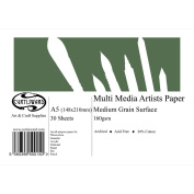 A5 Curtisward Multi Media Artists Paper Pad. For Pencil, Pastel, Watercolour etc