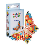 Modular Origami 340-Piece Small Butterfly Paper Set, Multi-Colour