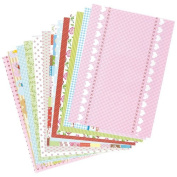 Spring Patterned Card & Paper Pack for Children to Make Decorations