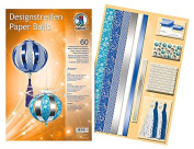 Ursus 4008525145837 Design Strip Paper Balls Frozen