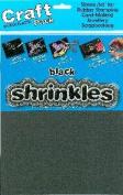 Shrink Art Plastic Blank Sheets, Black