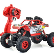 YIIXN Remote Control Four-wheel Drive Off-road Vehicles Four-wheel Drive 2.4G Remote Control Kids Toys