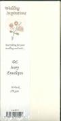 Card Craft 50 DL Ivory Wedding Envelopes
