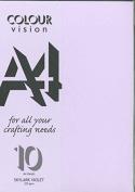 Skylark Violet A4 Craft Card 225 gsm Sealed Pack of 10