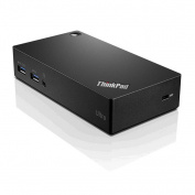 Lenovo ThinkPad Universal USB3.0 Ultra dock. 4x USB3, 2x USB2, Ethernet, DP, HDMI, Audio Jack