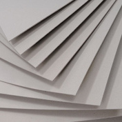 10 X A1 + SHEETS GREYBOARD 1mm / 1000 MICRON GREY BOARD FOR ART CRAFT MODELLING