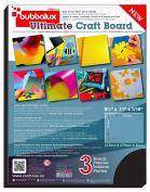 Craftex Bubba Lux FPBU118BK2 Craft Sheet – Vinyl, Black, 11 x 22cm x 0.6cm .