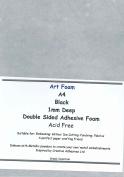 Creative Adhesives 1 mm Deep Black Art Foam Sheet