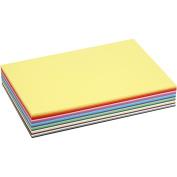 Colortime 30-Piece Creativ Craft Card, Assorted Colours