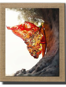 Modern wall art abstract oil painting butterfly woman hand painted oil painting , 60cm*80cm