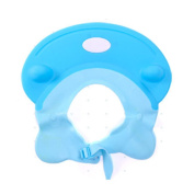 Shampoo Shield , LeRan Shower Hats Funny Bathing Protector Adjustable Soft Silicone Shade Cap Suitable for Adults or Kids