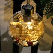 Christmas LED Bulb Decoration ,Woopower LED Transparent Ball Light Xmas Tree Home Hanging Ornaments Holiday Weeding Decor