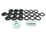 BP 12 P70 Black 12mm Plastic Eyelet and Washer Repair Kit