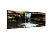 Panoramic Wall Image XXL 150 x 50 CM on Canvas and Stretcher Frame, Ready to Hang-Our Panoramabilder on Canvas captivate with their unusual formats and extremely detailed print from up to 100 Mega Pixel High Resolution Panoramafotos. our images to ensu ..