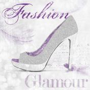 Eurographics Fashion Art FRF1021 Rock Glam Shoes, 55 x 55 cm