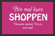 EMPIRE Merchandising 623676 Shopping, Doormat 60 x 40 cm Polypropylene