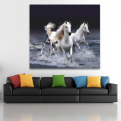 """DIY 5D Diamond """"Horse Without a Stop """" Painting Home Decor Rhinestone Pasted DIY painting"""