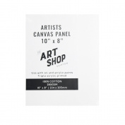 Artists 100% Cotton Canvas Panel for Oil & Acrylic Painting 25cm x 20cm