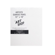 Artists 100% Cotton Canvas Panel for Oil & Acrylic Painting 30cm x 25cm