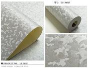 BABYQUEEN Pixel Colour Modern Minimalist Mottle Ice-Flower Wall Paper Office Shops Storefront Engineering Wallpaper C 0.53*9.5m