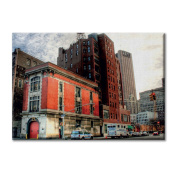 Canvas panel Canvas USA New York Palaces District Furniture City landscapes