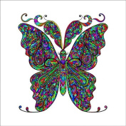 Butterfly 4 Colouring Stretched, 90 x 90 cm