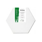 Artina Hexagonal Academy Blank Canvas (280 g/m²) 60cm Sidelength