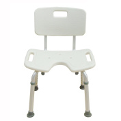 Shower chair Bathroom Stool Pregnant Women Bathroom Chair Elderly Bath Stool Aluminium Alloy Non-slip Bath Chair U Type Wash Buttocks Chair